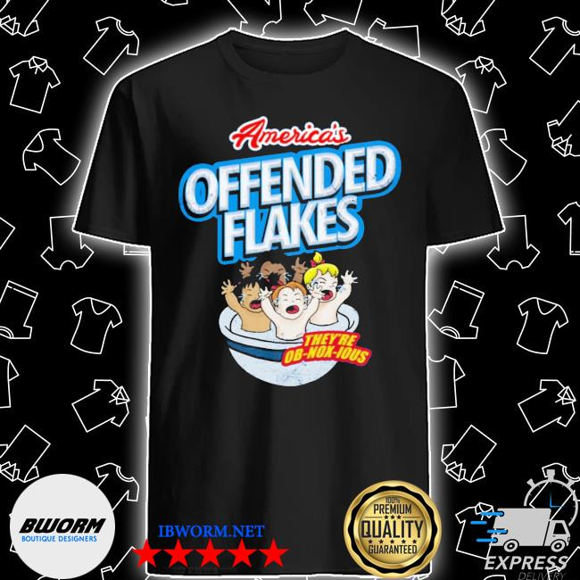 Official offended flakes shirt
