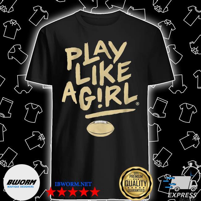 Official play like a girl baseball shirt