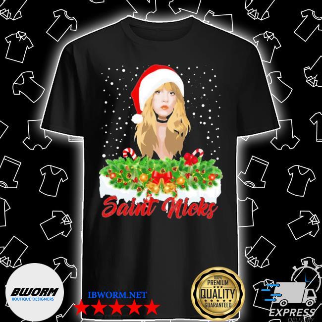 Official saint nicks ugly christmas shirt