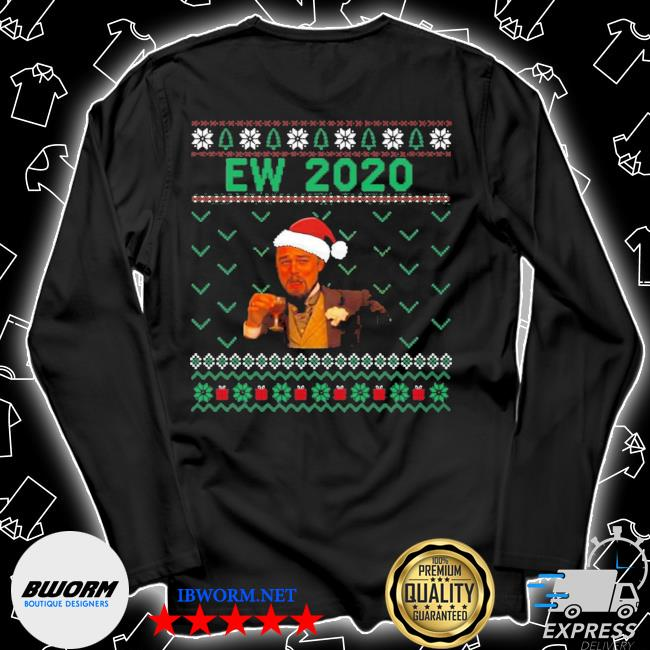 Official santa leonardo ew 2020 christmas ugly s Unisex Long Sleeve Tee