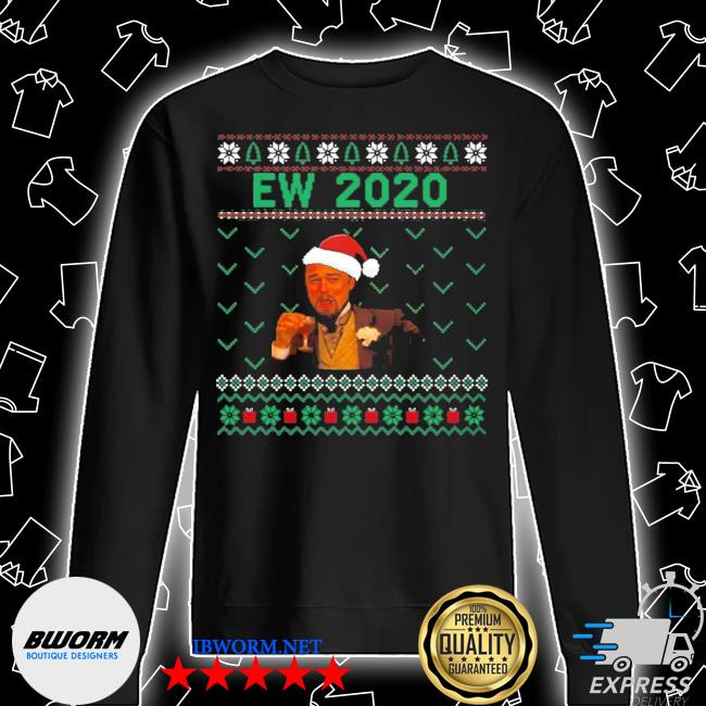 Official santa leonardo ew 2020 christmas ugly s Unisex Sweatshirt