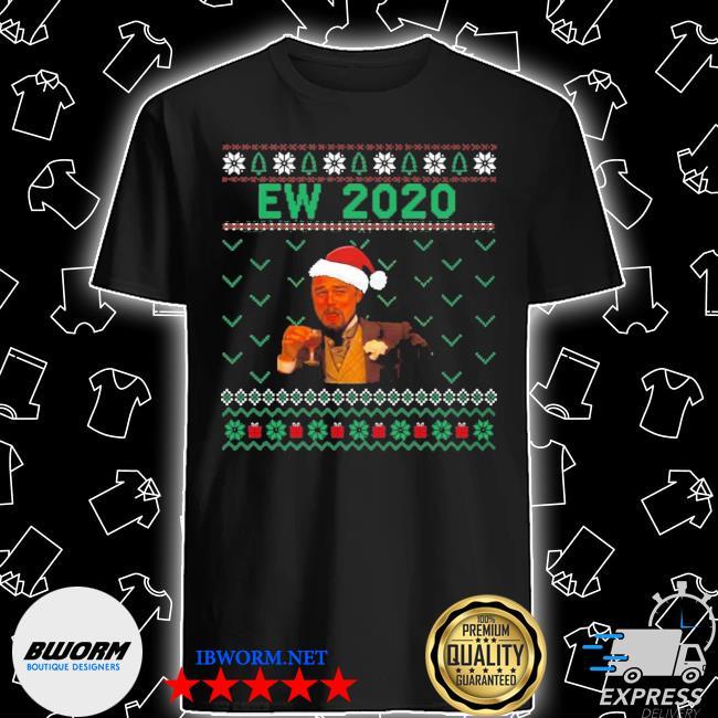 Official santa leonardo ew 2020 christmas ugly shirt