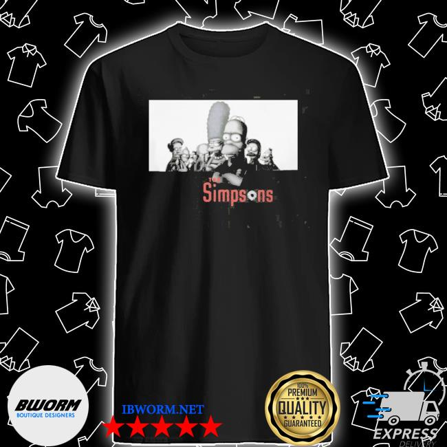 Official the simpsons sopranos vintage shirt