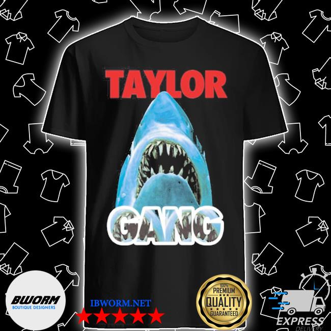 Official wiz khalifa taylor gang merch taylor gang shark shirt