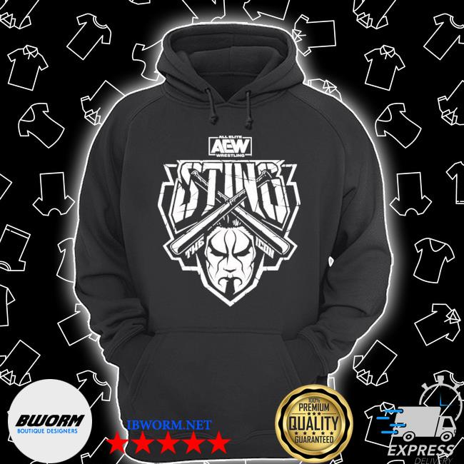 Official aew sting aew drops entire line of sting s Unisex Hoodie