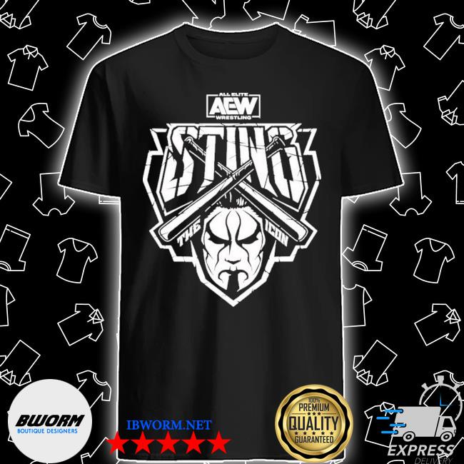 Official aew sting aew drops entire line of sting shirt