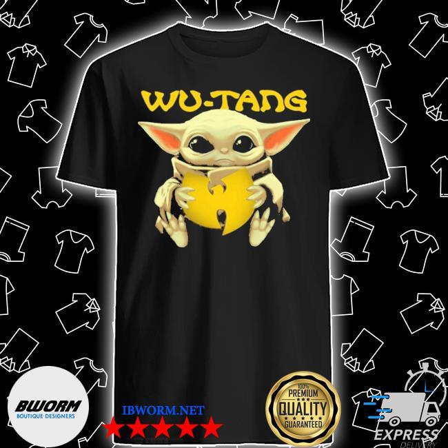 Official baby yoda hug wu tang shirt