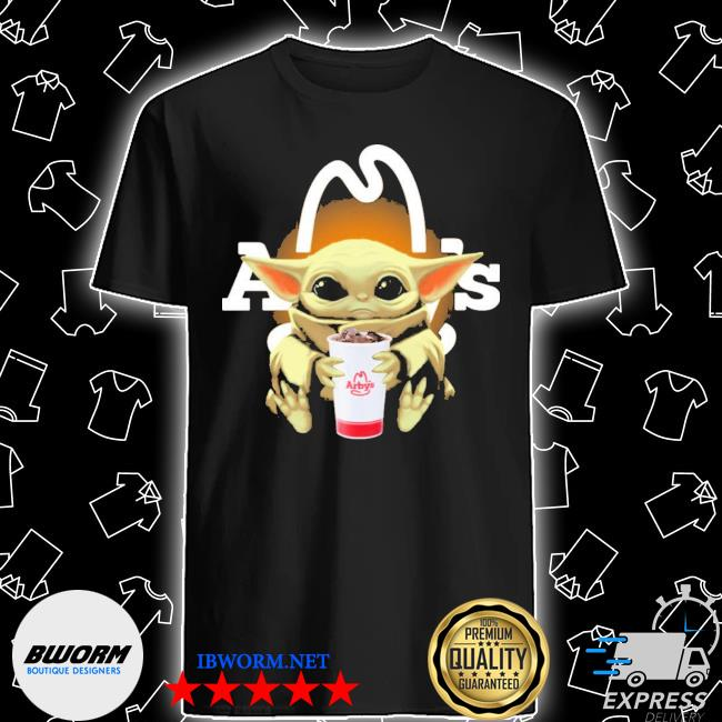 Official baby yoda hugs arby's shirt