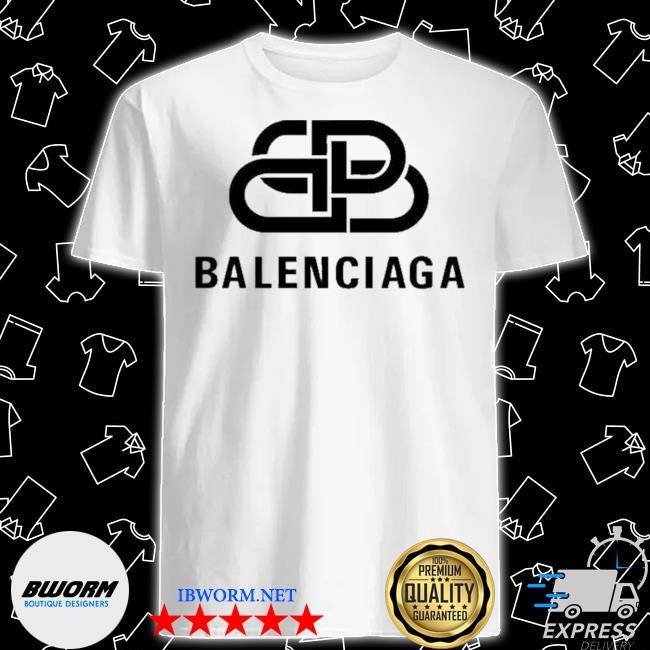 Official bb balenciaga logo shirt