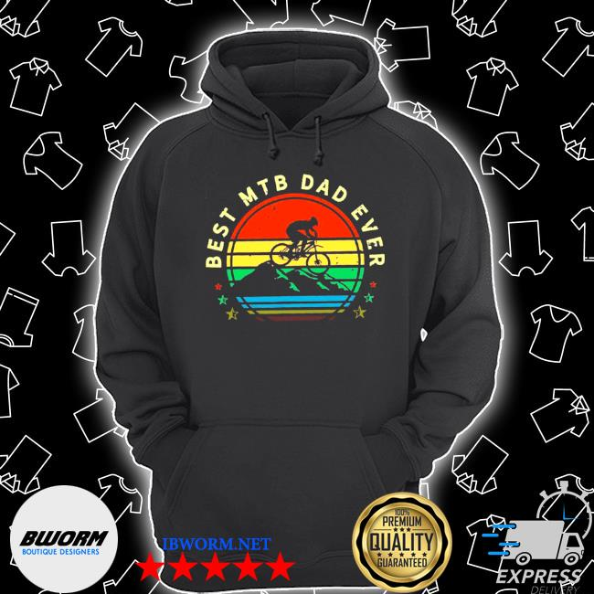 Official best mtb dad ever s Unisex Hoodie