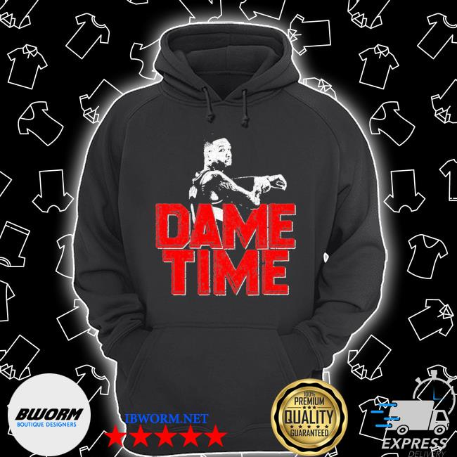 Official dame time damian lillard s Unisex Hoodie