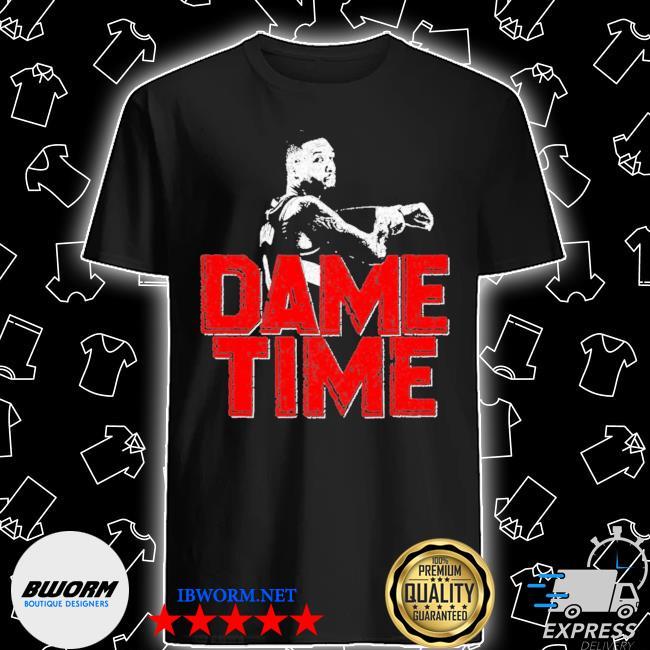 Official dame time damian lillard shirt