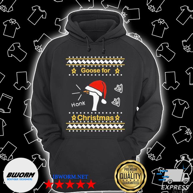 Official goose ugly christmas s Unisex Hoodie
