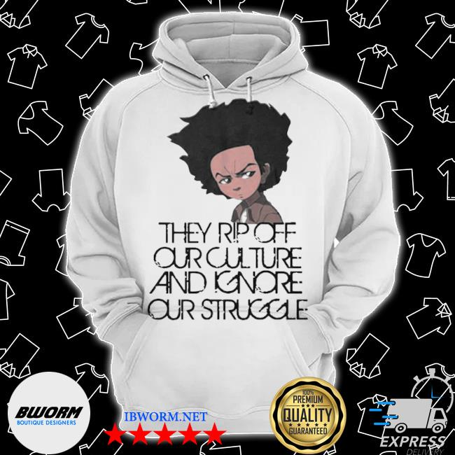 Official huey freeman they rip off our culture and ignore our struggle s Classic Hoodie