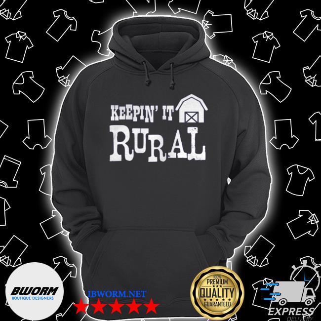 Official keepin it rural farm barn country farming s Unisex Hoodie