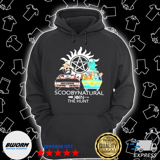 Official scoobynatural join the hunt supernatural scooby doo s Unisex Hoodie