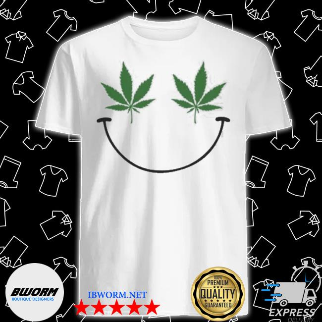 Official smiley weed eye shirt