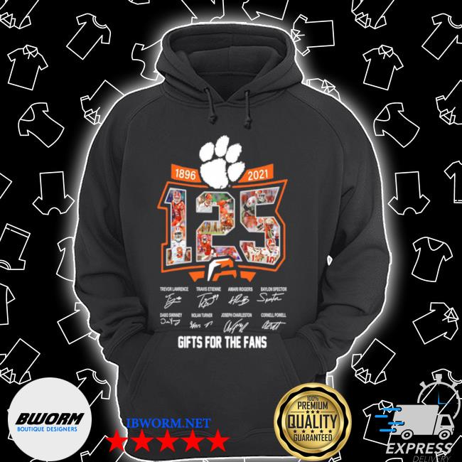 125 years of 1896 2021 gifts for the fans signatures s Unisex Hoodie