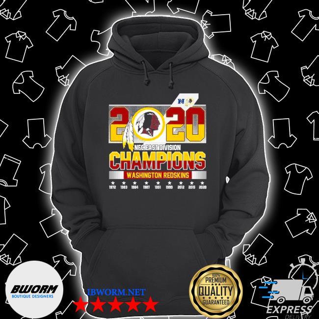 2020 NFC east Division champions Washington redskins s Unisex Hoodie