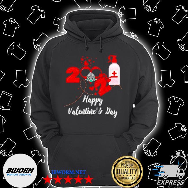 2021 covid19 happy valentines day s Unisex Hoodie