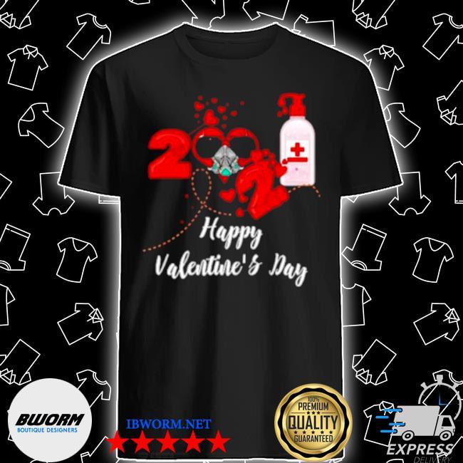 2021 covid19 happy valentines day shirt