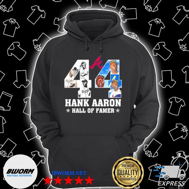 44 hank aaron hall of famer s Unisex Hoodie