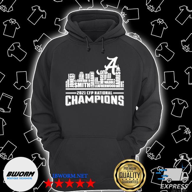 Alabama crimson tide 2021 champions s Unisex Hoodie