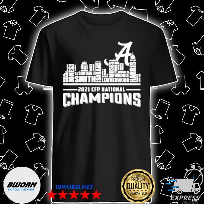 Alabama crimson tide 2021 champions shirt
