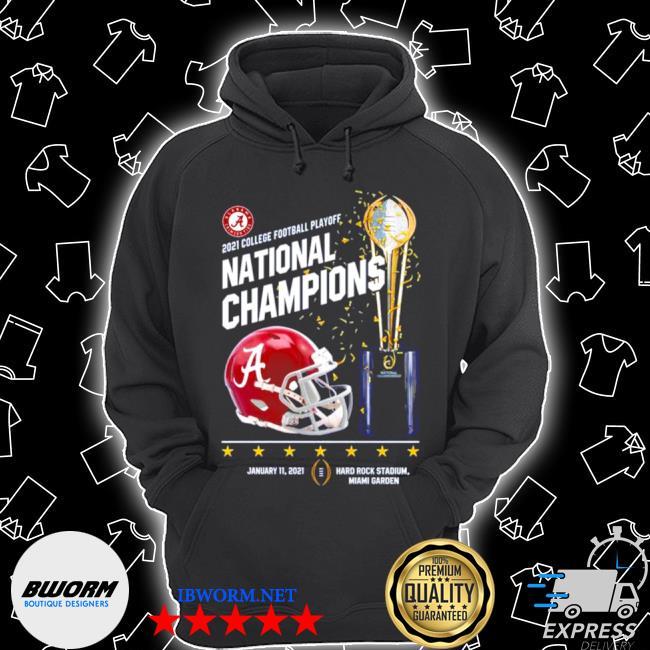 Alabama crimson tide 2021 college football playoff national champions alabama 52 ohio state 24 s Unisex Hoodie