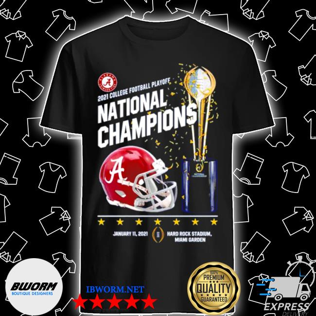 Alabama crimson tide 2021 college football playoff national champions alabama 52 ohio state 24 shirt