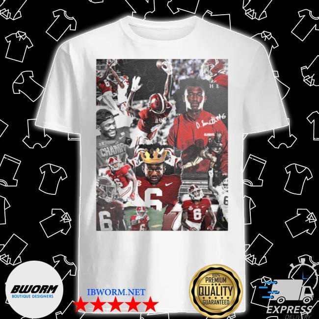 Alabama crimson tide devonta smith signature shirt