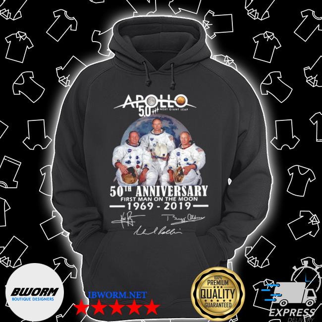 Apollo next giant leap 52 years thank you for the memories signatures s Unisex Hoodie