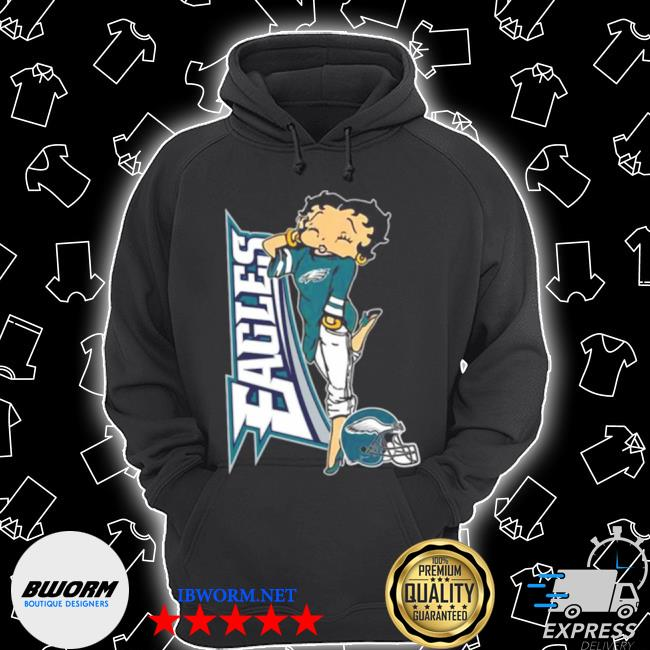 Betty boop philadelphia eagles football s Unisex Hoodie