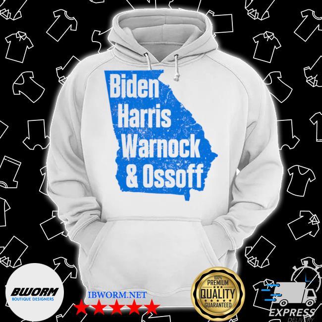 Biden Harris warnock and ossoff senate win in Georgia s Classic Hoodie