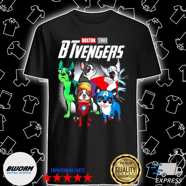 Boston terrier btvengers 2021 shirt