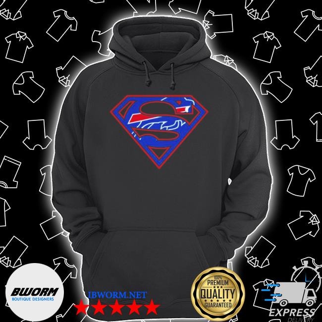 Buffalo Bills raiders superman 2021 s Unisex Hoodie