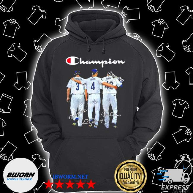 Champion babe ruth and gehrig and rivera s Unisex Hoodie