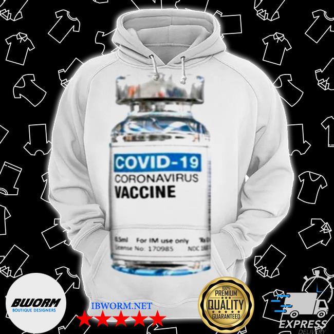 Covid 19 coronavirus vaccine bottle s Classic Hoodie