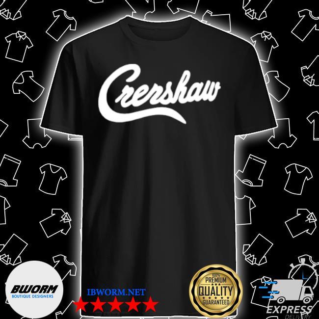 Crenshaw the marathon clothing shirt
