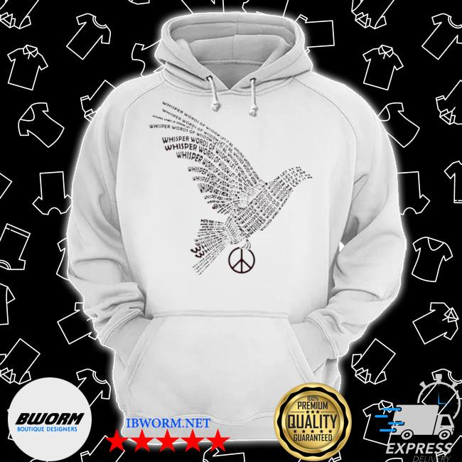Dove whisper words of wisdom let it be s Classic Hoodie
