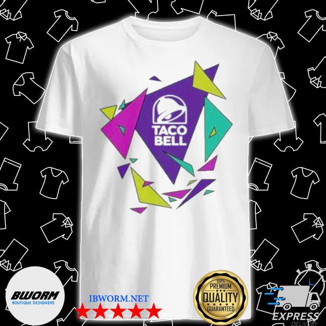 Gavin dempsey taco bell geometric logo shirt