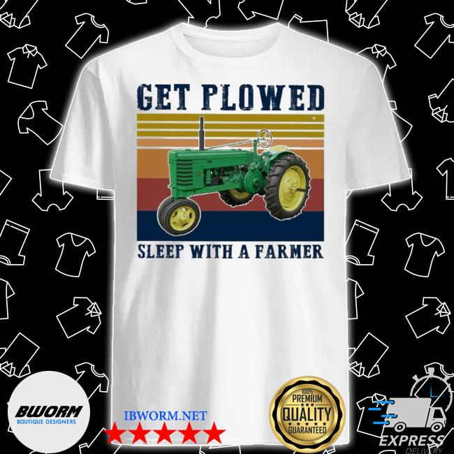 Get plowed sleep with a Farmer vintage shirt