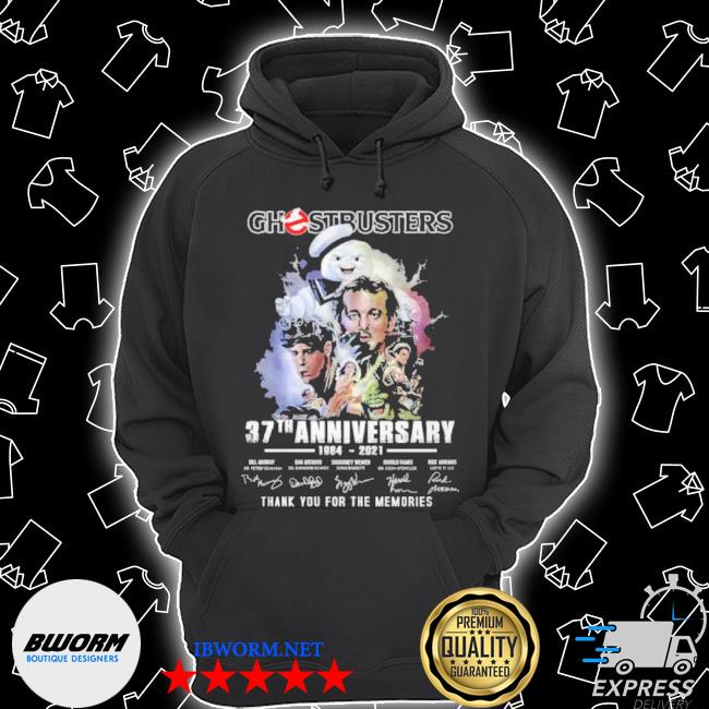 Ghostbusters 37 th anniversary 1984 2021 thank you for the memories s Unisex Hoodie