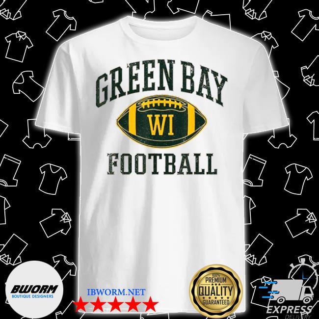 Green bay football wisconsin shirt