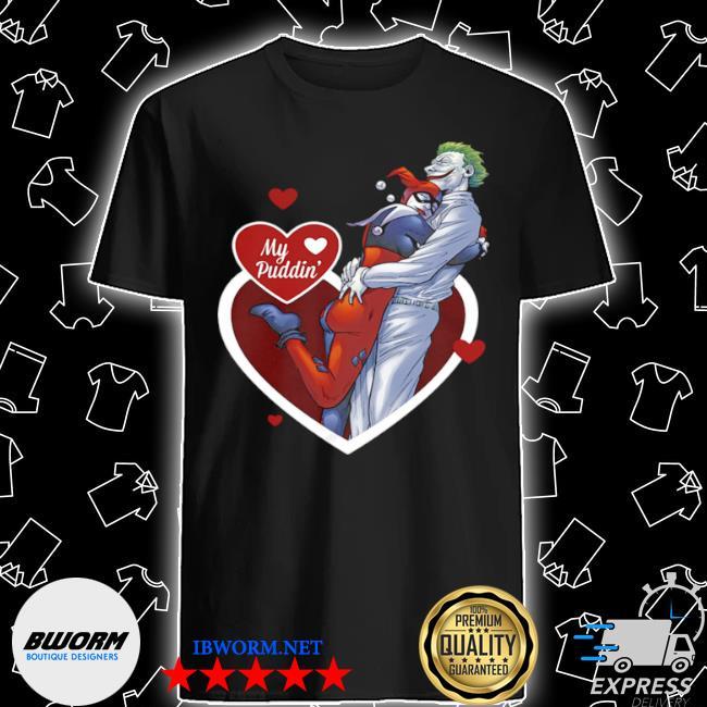 Harley quinn and the joker my puddin' DC comics shirt
