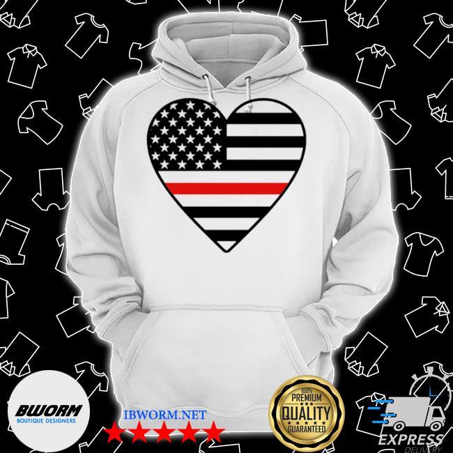 Heart American flag s Classic Hoodie