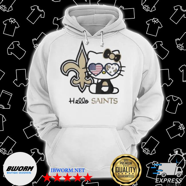 Hello kitty new orleans saints s Classic Hoodie