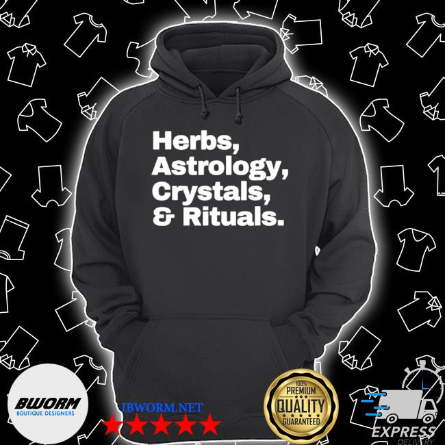 Herbs astrology crystals and rituals s Unisex Hoodie