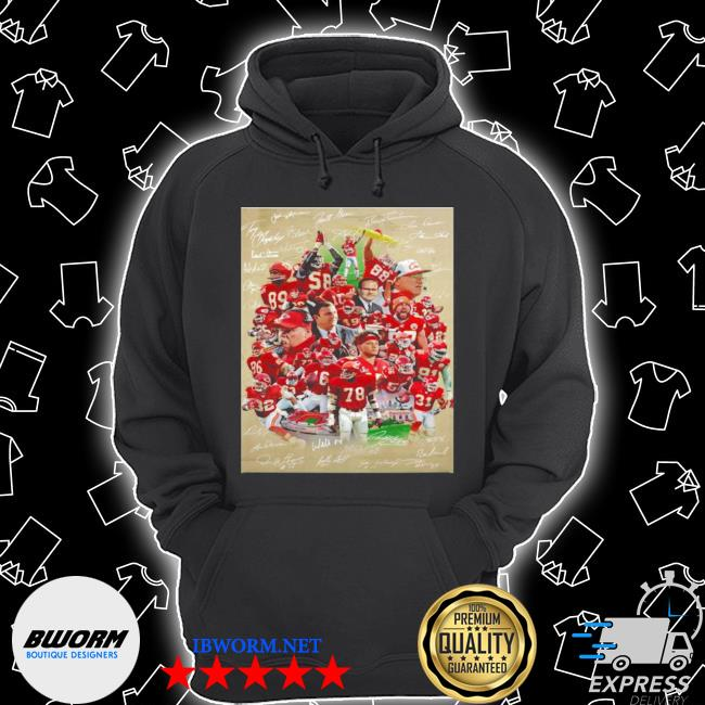 Kansas city Chiefs super bowl champions team players s Unisex Hoodie