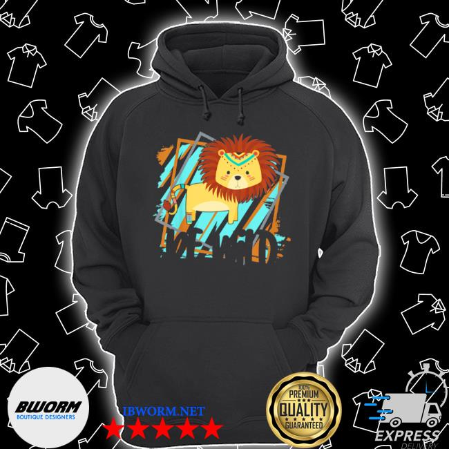 Kids be wild gypsy hippie lion girls toddler s Unisex Hoodie